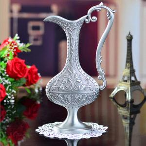 Ваза метал для цветов