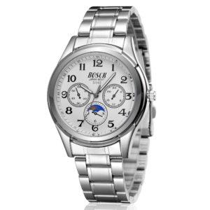 Watch Men Quartz-Watch Luxury Brand Full Steel Men's Watch Clock Male Waterproof Relogios Masculinos Montre Homme
