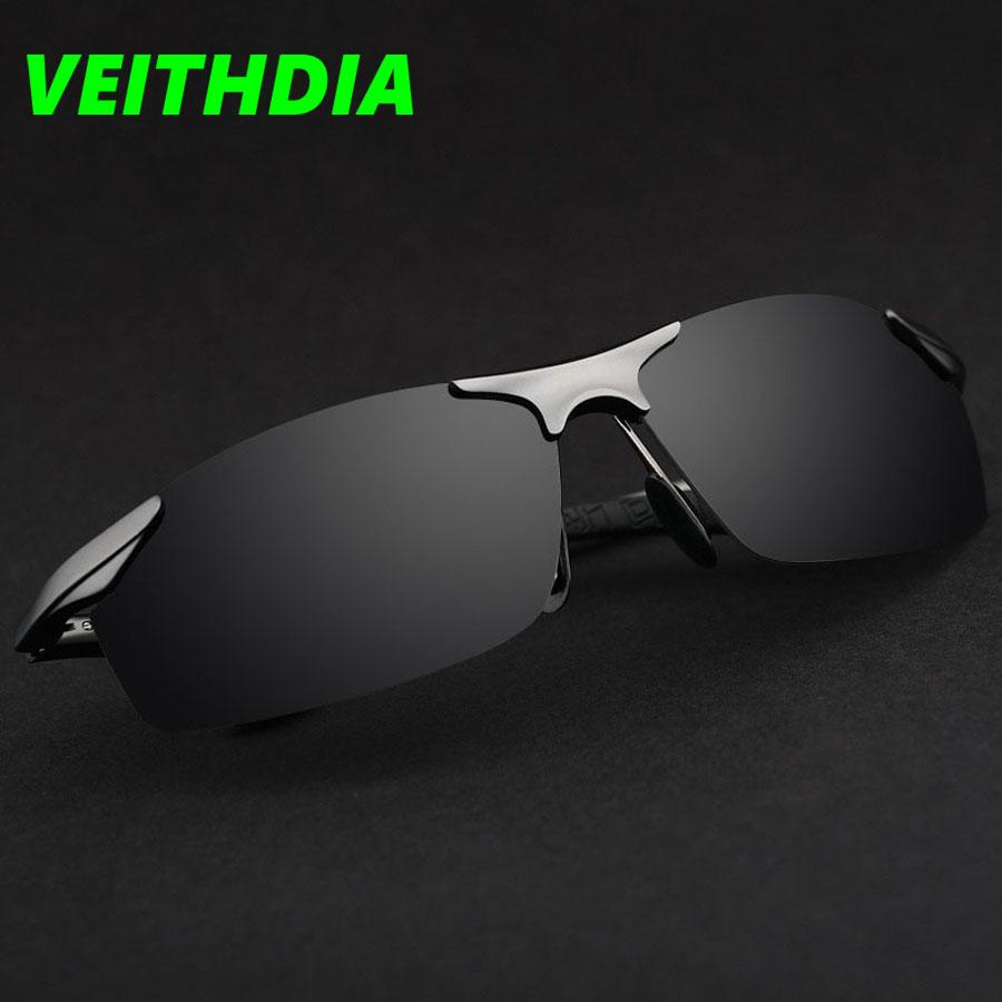 f69d10c8fc8f VEITHDIA Sports and Luxury Polarized Sunglasses Men Glasses grey ...