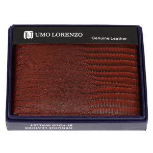 Genuine Leather Mens Bi-Fold Wallet 7 Credit Card Slots