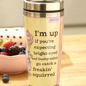 Aunty Acid Humorous Travel Mug Bright Eyed