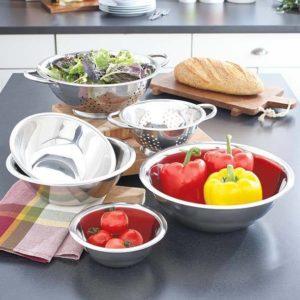 Stainless Steel Kitchen Set 6Pc Bowl Set
