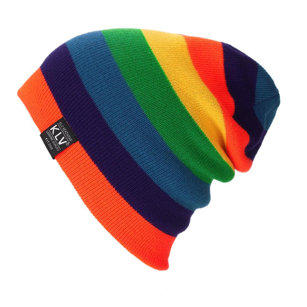a7a64d62c Unisex Men Women Knit Baggy Fall Winter Hat Slouchy Beanie Hat