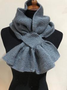 custom handmade scarf, knitted scarf