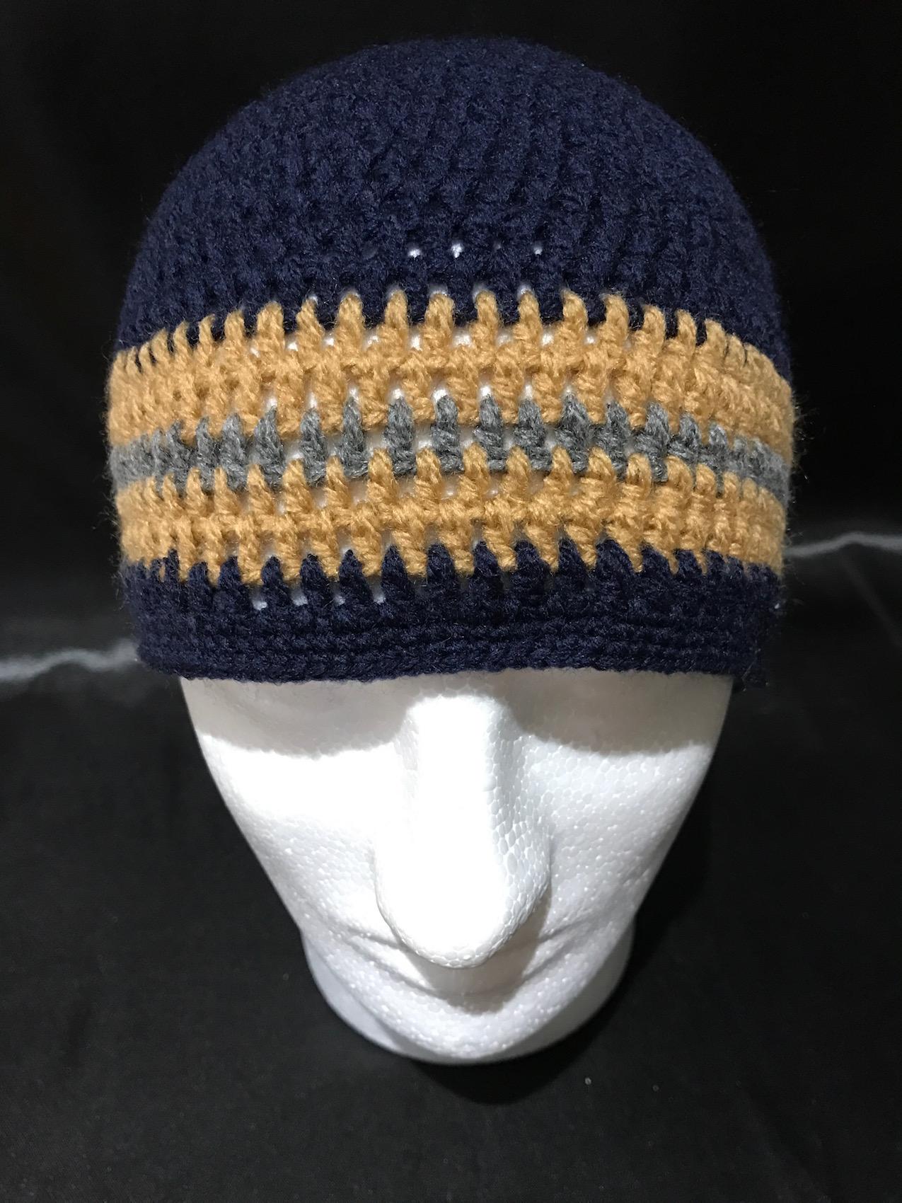 5752807b1dfcf Men Custom Handmade Knitted Winter Hats Never Machine Made