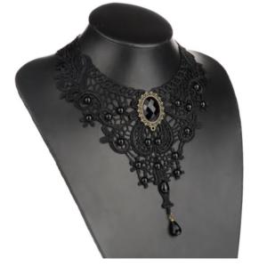 Retro Vintage Collar Gothic Lace Women Necklace Choker