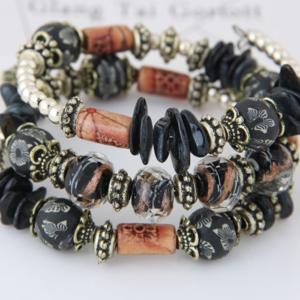 Handmade Beach Bracelets Natural Stone Beads Sea Shells
