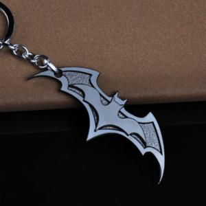 DC Comics 3D Dark Knight Batman Black Metal Batman Keychain