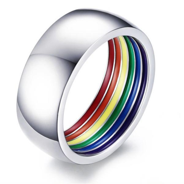 Gay rings, LGBT rings, LGBT bands, LGBT party rings