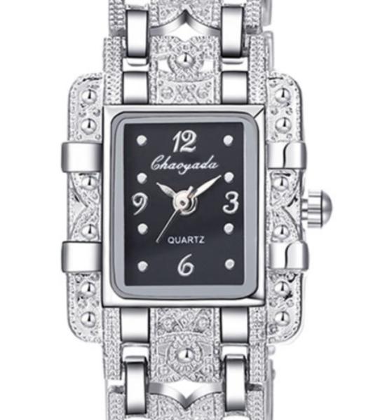 Black Elegant bracelet fancy watch