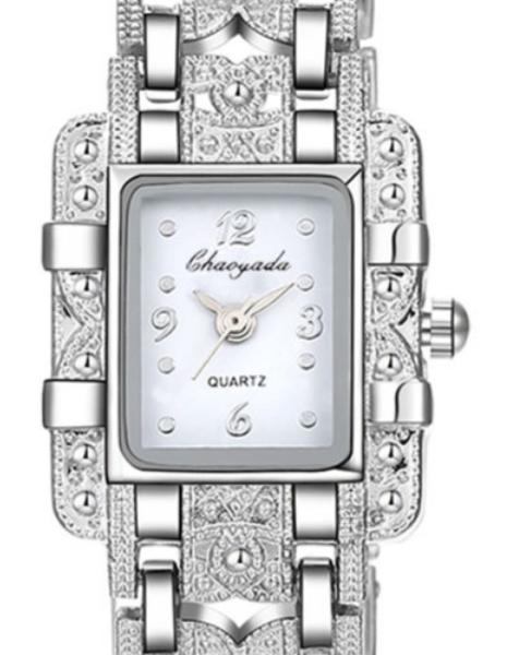 white stylish ladies watches