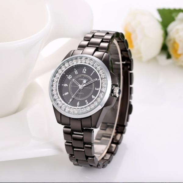 black luxury sport watch, ladies luxury watches, snob watches, snob ladies watches, snob women watches