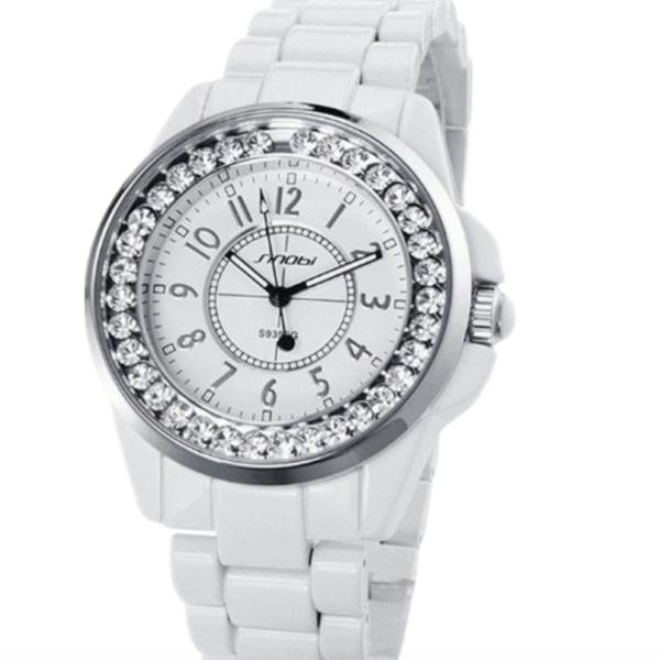 white snob women watches, snob ladies luxury watches , bling bling watches