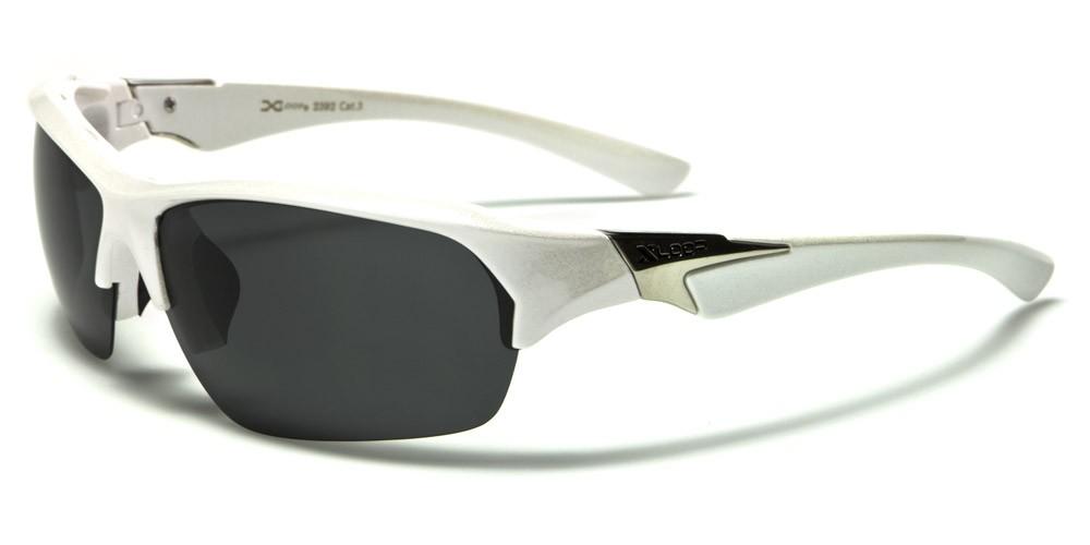 X-LOOP Polarized Men Semi Rimless Rectangle Men Sunglasses | HubKet