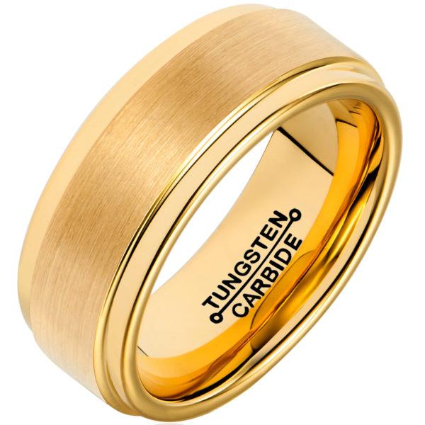 tungsten men's wedding rings