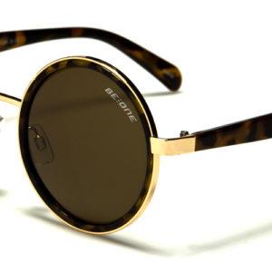 BeOne 100% UV 400 Women Designer POLARIZED Round Sunglasses w/ FREE Case