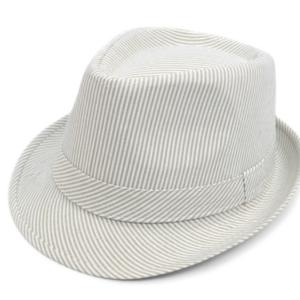 Unisex Summer Striped Fashion Fedora