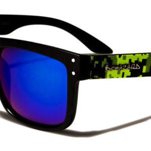 BioHazard Unisex Retro Classic Sunglasses 100% UV400  w/ FREE Pouch